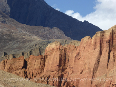 Trekking to Upper Mustang in Nepal