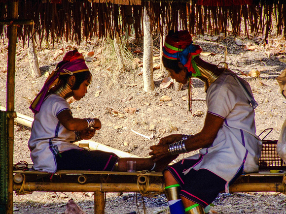 Two Kayan ladies