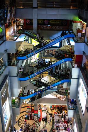 Inside MBK Center, Bangkok