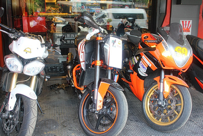 Big bikes for rent in Thailand