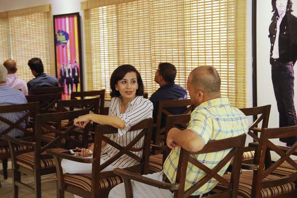 Shaguni Shakya at the book launch