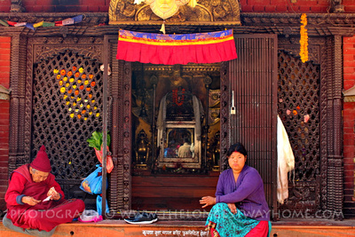 Ajima Hariti Shrine in Boudhanath