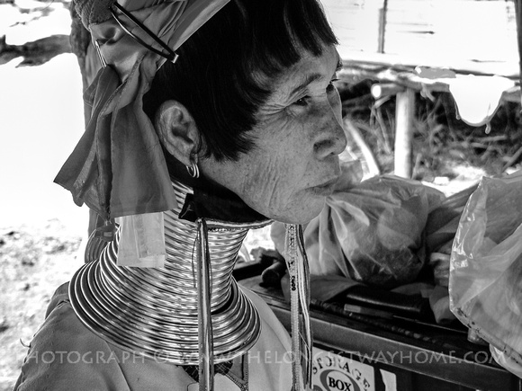 Kayan refugee in Thailand