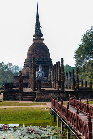 The Sinhalese Chedi at Wat Sa Si