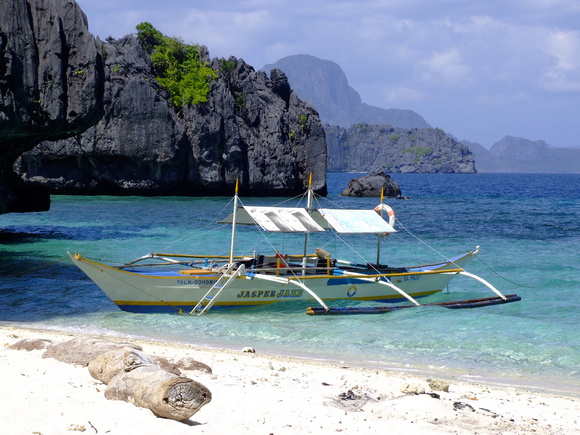 Beach in The Philippines