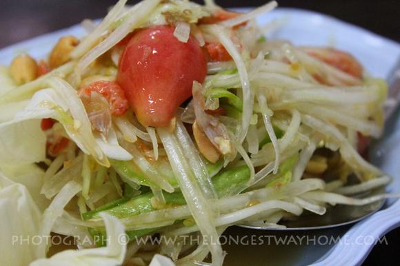 Green Papaya Salad from Thailand