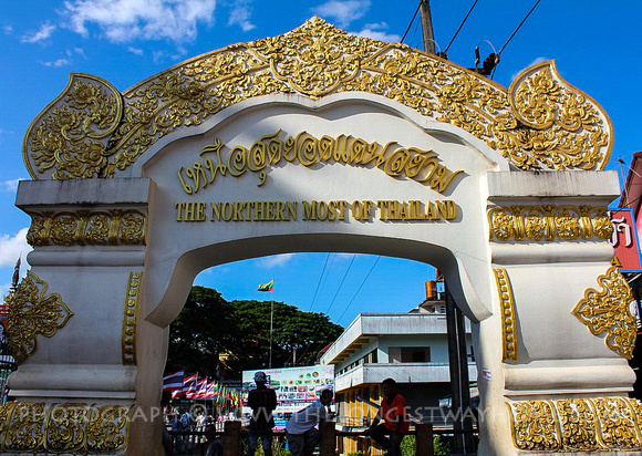 Thailand's northern town arch