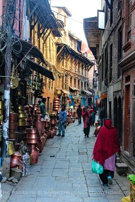 Patan's ancient streets
