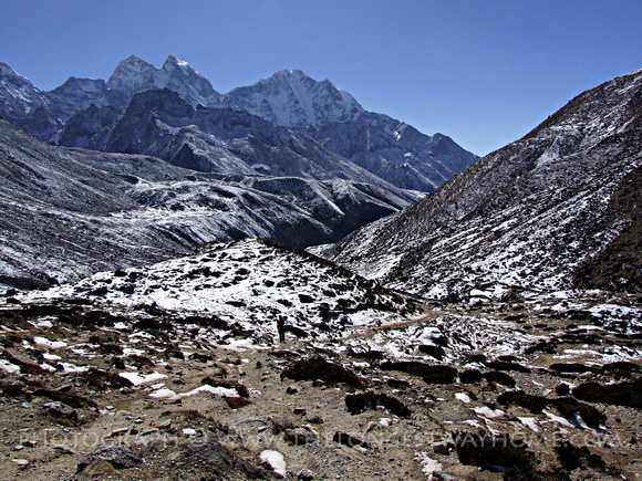 Trekking to Everest in Nepal