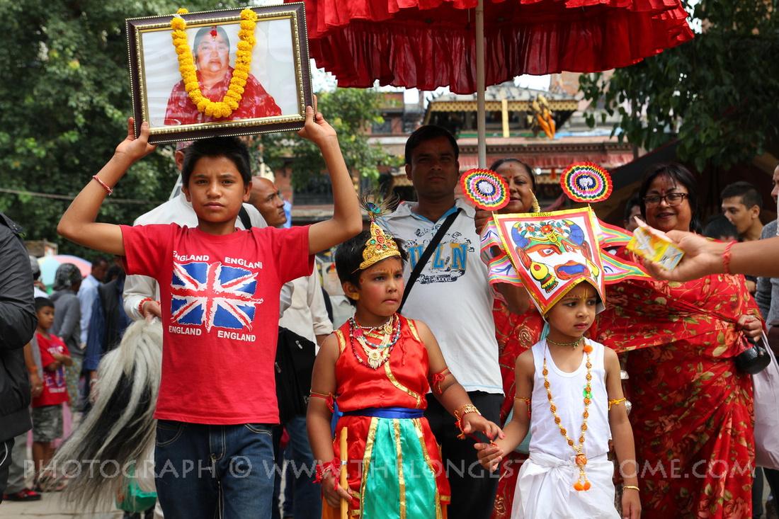 Remembering the dead at Gai Jatra