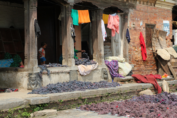 Small community house in Nepal