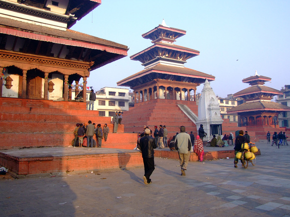 This is how Kathmandu Durbar Square used to look