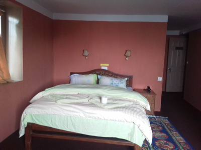 Double room at guesthouse in Khumbu