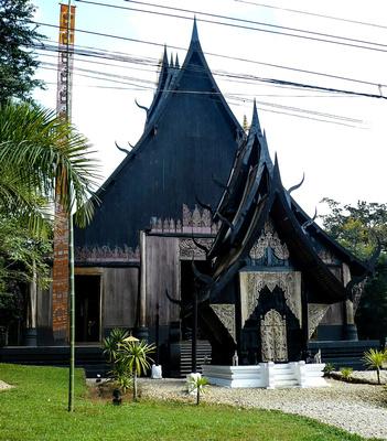 Baandam Museum or Black House in Chiang Rai