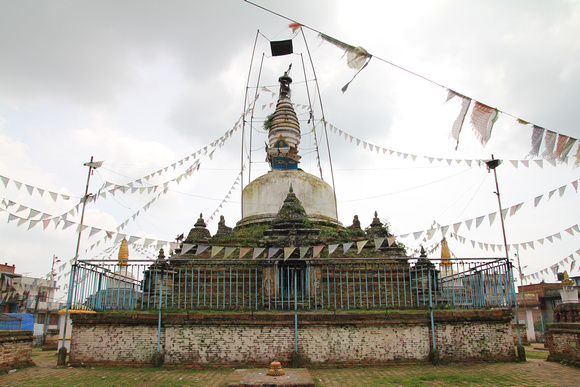 Chilancho Stupa in Kirtipur stands neglected in silence