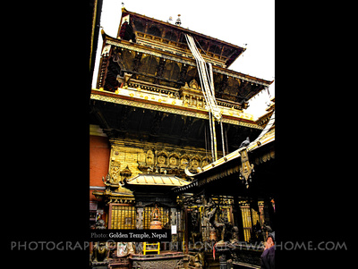 The Golden Temple in Patan, Nepal