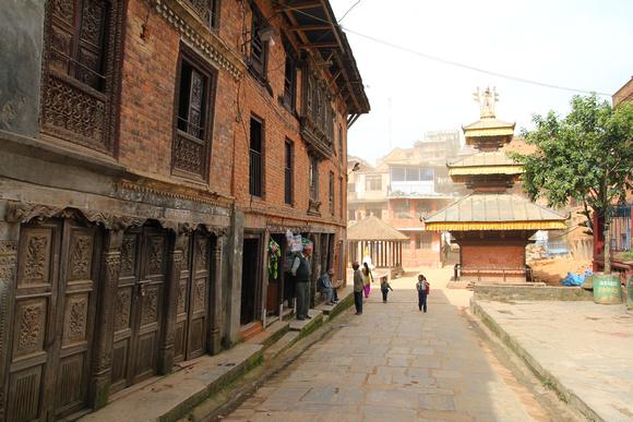 Street in Dhulikhel