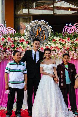 Burmese Thai wedding in Thailand