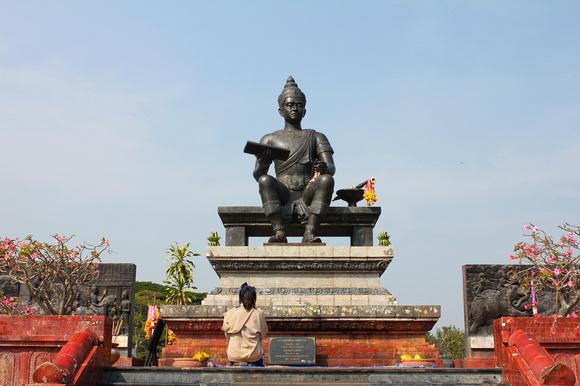 King Ramkhamhaeng the Great, Sukhothai, Thailand
