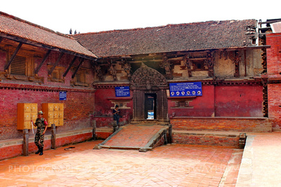 The Taleju Temple in Bhaktapur