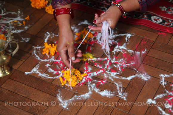 Ashtamangala mandalas