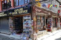 Explore book service in Thamel