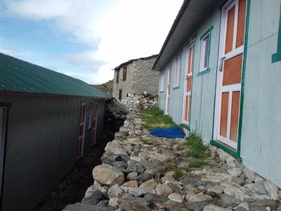 typical trekking lodges on the Everest Trek