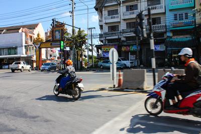 Motorbikes in Chiang Rai