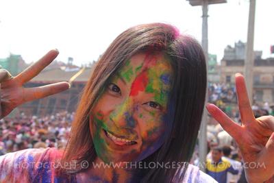 Enjoying festivals in Nepal as a solo woman