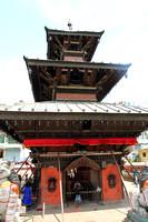 The Balkumari temple in Patan