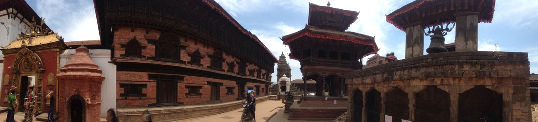Bhaktapur Durbar Square after the earthquake
