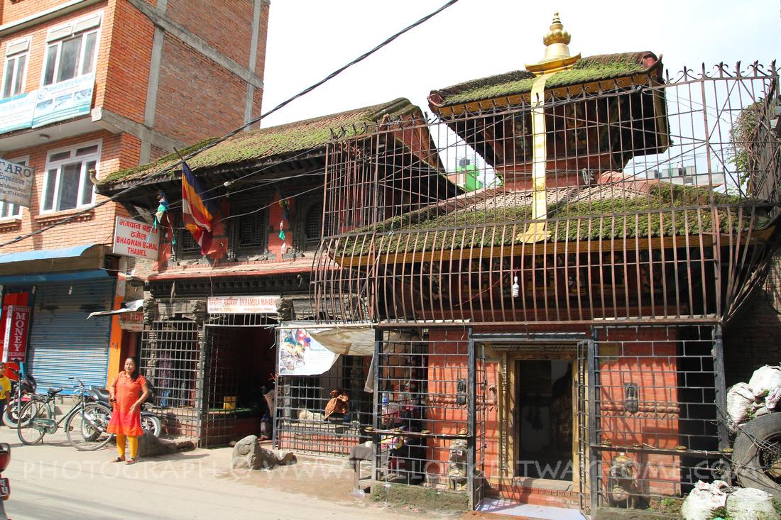 Bikramsila Mahadev - Bhagwan Bahal in North Thamel