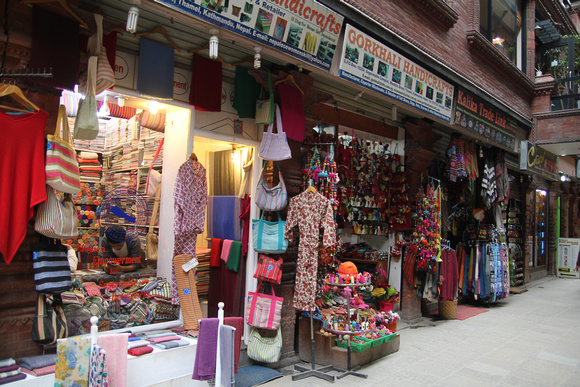 Boutique stores in Thamel