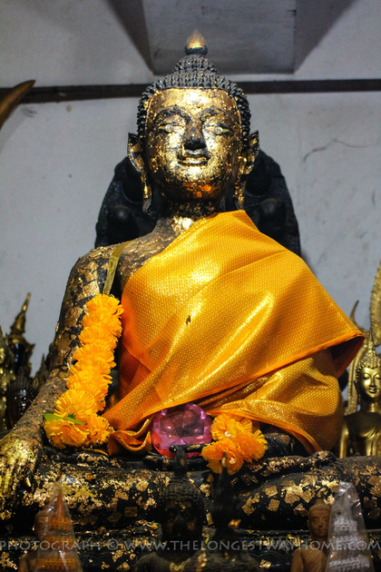Buddha with Diamond Eyes Statue