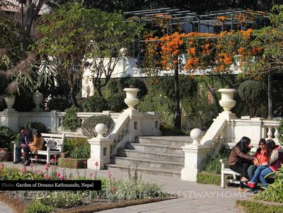Inside the Garden of Dreams, Kathmandu
