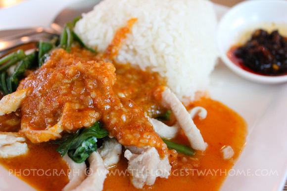Thai Pork in peanut sauce