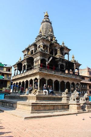 Krishna Mandir in Patan Durbar Square