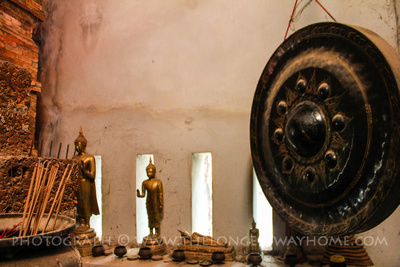 Artifacts inside Luang Pho Petch
