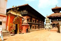 Overlooking Bhaktapur Durbar Square