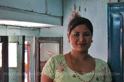 Shova, the Kumari's mother