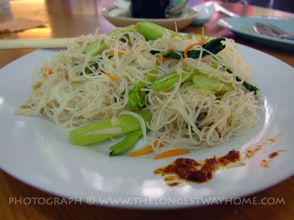 Rice Noodle Me Hoon from Malaysia