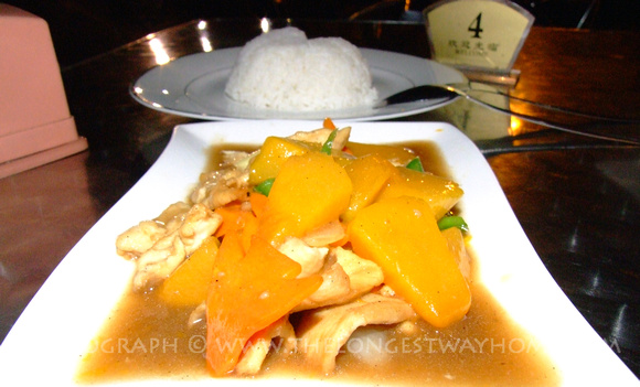 Pumpkin Chicken from Sabah Malaysia