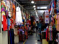 Inside the market in Sandakan Malaysia