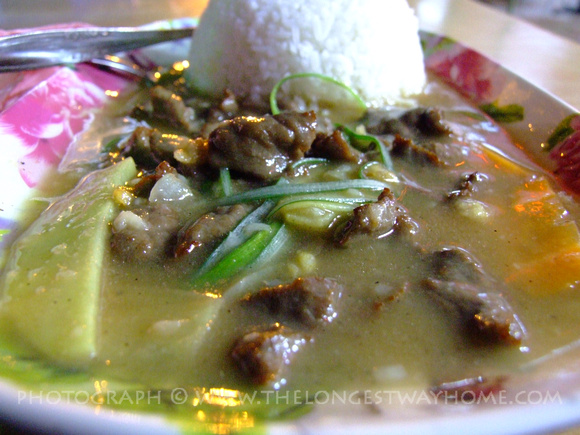 Ginger Beef from Sabah