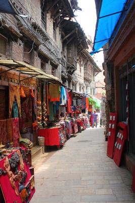 Main street in Bhaktapur