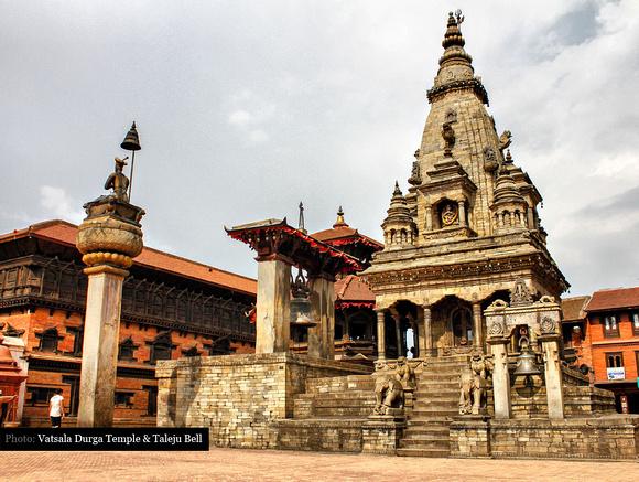 Vatsala Durga Temple & Taleju Bell, Bhaktapur, Nepal