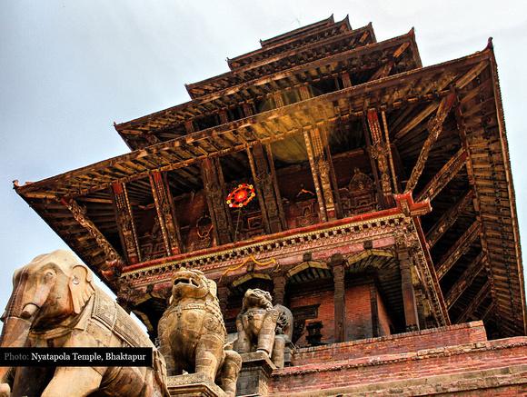 The Nyatapola Temple