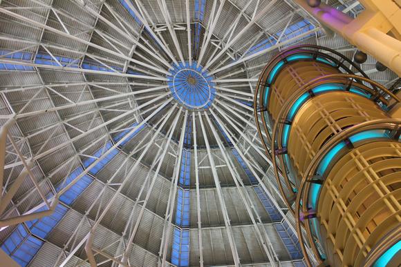 Inside Suria KLCC at Petronas towers in Kuala Lumpur, Malaysia