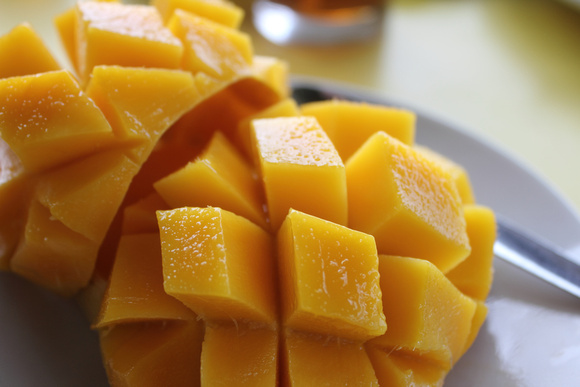 Big diced mango from The Philippines