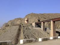 The old Khyber Railway, now broken